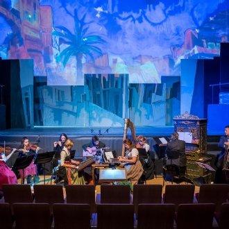 """Radauer Ensemble in """"Sonst bliebe es nur ein Traum"""" © Albert Moser"""