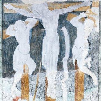 """Ausschnitt von """"Kreuzigung"""" © B. Dürr"""