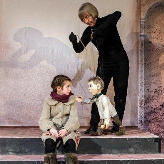 """Marionette """"Simmerl"""" auf der Bühne © Leo Hartinger"""