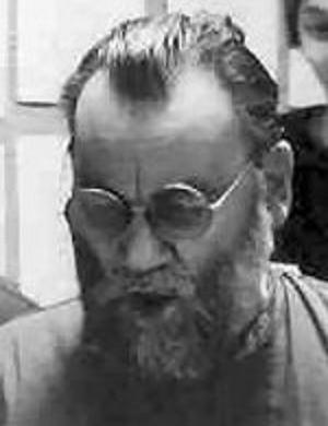 Komponist Wilhelm Keller in 1985 (* 8.8.1920, + 4.6.2008) © wikipedia, 30.3.2020