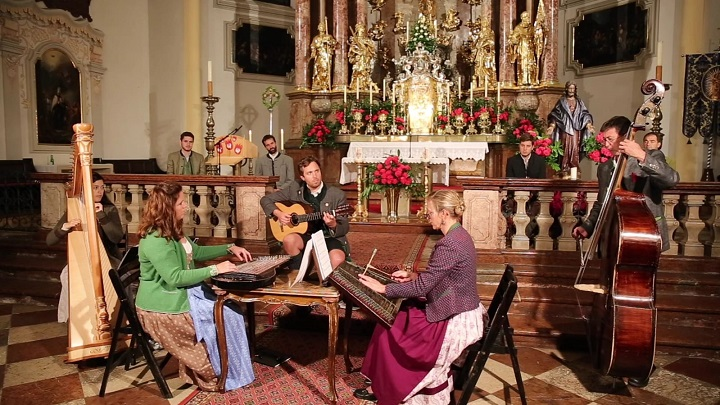 Müllner Abendandacht - Radauer Ensemble, Ruperti Viergesang - in der Müllner Kirche © Salzburger HirtenAdvent
