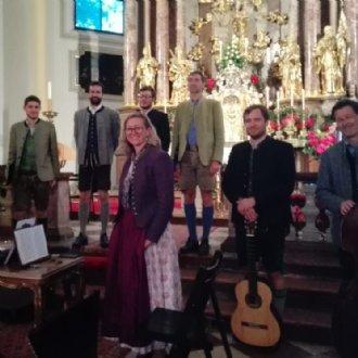 Müllner Abendandacht - Radauer Ensemble und Ruperti Viergesang in der Müllner Kirche, Salzburg © Barbara Dürr