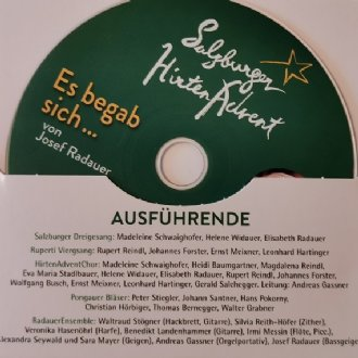 """CD """"Es begab sich ..."""" - Cover © Salzburger HirtenAdvent"""